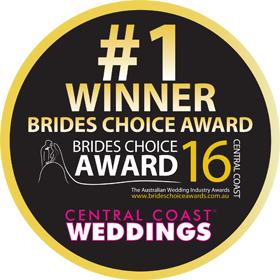 Brides Choice Awards - Central Coast - Winner 2016