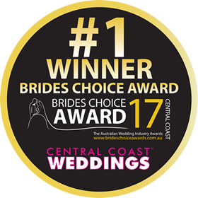Brides Choice Awards - Central Coast - Winner 2017