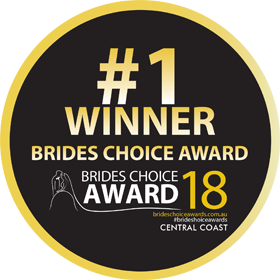 Brides Choice Awards - Central Coast - Winner 2018