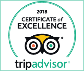 TripAdvisor - Certificate of Excellence - 2018