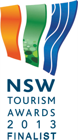 NSW Tourism Awards - Finalist 2013