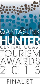 Qantaslink Hunter - Central Coast Tourism Awards - Finalist 2013