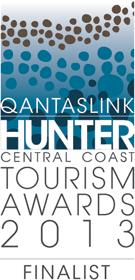 Qantaslink Hunter - Central Coast Tourism Awards - Finalist 2013