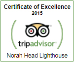 TripAdvisor - Certificate of Excellence - 2015