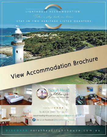 Norah Head Lighthouse - Accommodation Brochure