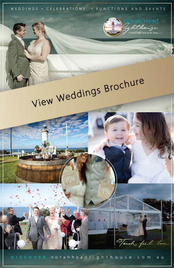 Norah Head Lighthouse - Weddings Brochure